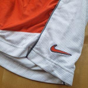 RARE VINTAGE • Nike orange basketball shorts